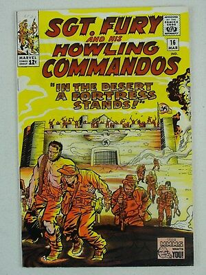 Sgt. Fury And His Howling Commandos March 1965 #16 Marvel Comics