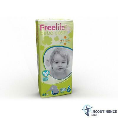 Freelife  BébéCash - Nappies - Extra Large 6 - Pack of 44