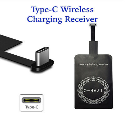 Qi Wireless Fast Type-C Charger Charging Receiver Kit Pad For Huawei P9 Nexus 6P