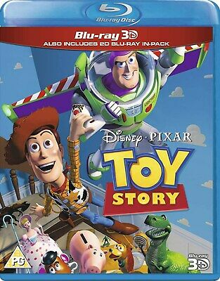 Toy Story (3D Edition with 2D Edition) [Blu-ray]