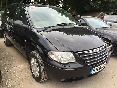 06 Chrysler Grand Voyager 3.3 Limited *black, 7 Seats, Leather, Privacy, Alloys*