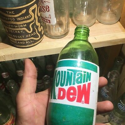 Mt Dew,mountain dew bottle,Foam Label, Non return