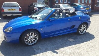 2003 MG TF 135 Trophy Blue, Hardtop, Boot Rack, TF160 Alloys+spare included