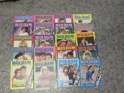 Job Lot Blue Jeans Photo Novels 1986-1989 All Very Good Condition