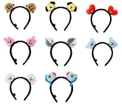 BT21 Official Headband BTS Authentic Line Friends Plush Hair Band +Tracking#