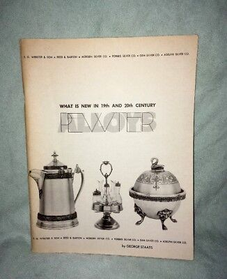 What is new in the 19th Century and 20th Century Pewter and Alloys 1970