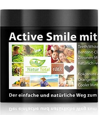 Natur Total Active Smile Teeth Whitening Charcoal -