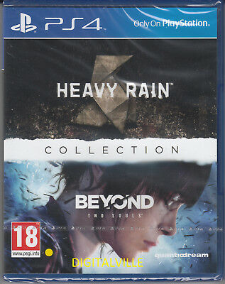 Heavy Rain & Beyond Two Souls Collection PS4 PlayStation 4 Brand New and Sealed
