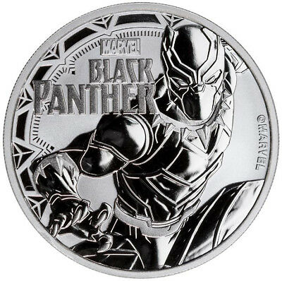 Black Panther™ - 1 Oz Silver Coin - Marvel™ Series 2018 Tuvalu