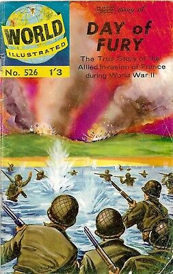 Classics Illustrated: World Illustrated 526 Day Of Fury