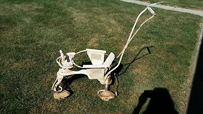 Antique Baby Stroller Taylor Tot WOOD and METAL