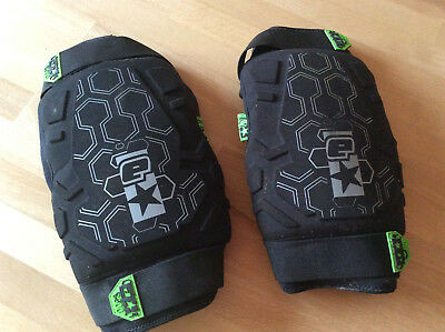 Super Paintball - Knee Pads, Knieschoner, Gr. M von Planet Eclipse, schwarz/grau
