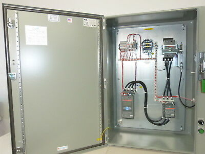 ABB Soft Start 50HP @ 480v N4/12 Enclosure CB Disco, HOA, Start, Timer, CPT NEW