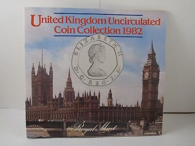 1982 United Kingdom Brilliant Uncirculated Coin Collection
