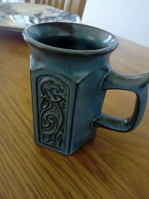 Tyn Llan J&F Wales Hexagonal Mug With Celtic Design