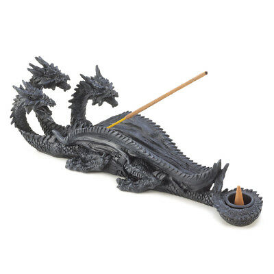 Dragon Crest Triple-head Dragon Incense Burner