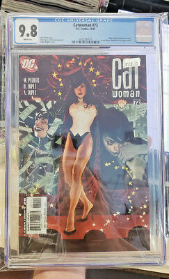 CATWOMAN #72 (Vol. 3) - CGC Graded 9.8 - Adam Hughes cover!