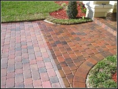 Wet Look Block Paving Sealer Resin Based* High Quality Product * 20Ltr Driveway