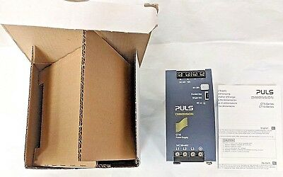PULS CT10.241 Power Supply, DIN Mount, 380-480VAC 3-PH IN, 24-28VDC 10A OUT, NEW
