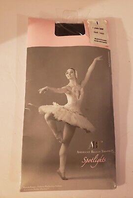 ABT American Ballet Theatre Spotlights Tights Ballet Girls Size Large BLACK