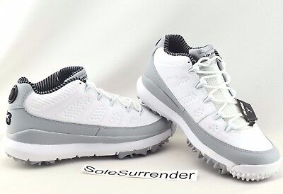 7a06f719316e Air Jordan IX Retro Golf Shoes -CHOOSE SIZE- 833798-103 Grey Black Barons