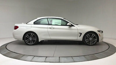 BMW 4 Series 430i 430i 4 Series New 2 dr Convertible Automatic Gasoline 2.0L 4 Cyl Alpine White