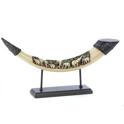 Accent Plus Far East Elephants Home Decor Tusk