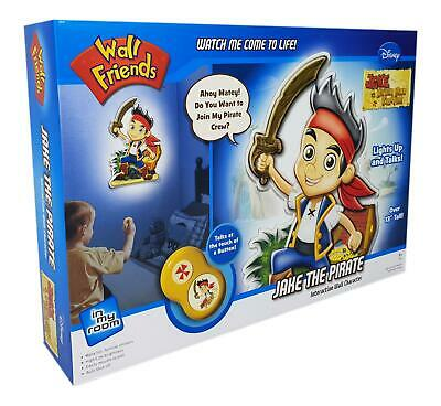 """Wall Friends Jake and the Neverland Pirates Interactive Character Light New 13/"""""""