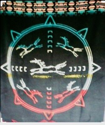 """Vintage Retired Pendleton Blanket """"They Sang for Horses"""" Native American"""