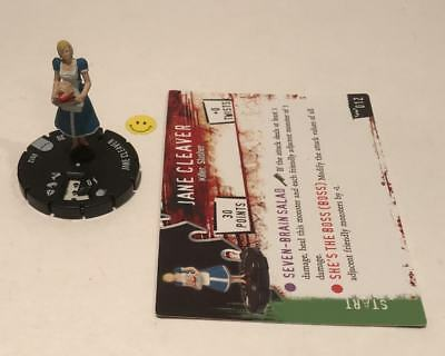 Horrorclix Nightmares Jane Cleaver #012 with Card NEW from Booster Pack
