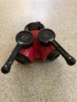 """Fire Pump Y valve 2.5"""" NH to 1.5"""" NPSH"""
