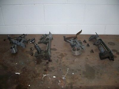 2 Singer 300w industrial sewing machine puller assemblies complete working