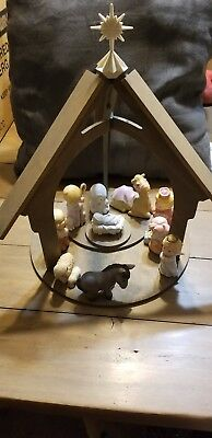 """Avon Nativity Collection-""""Heavenly Blessings"""" (1987) Complete Collection"""