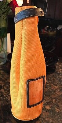 Veuve Clicquot Orange Carrier Cooler Bag Brut Champagne Carrier Insulated