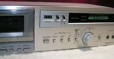 MCS 3549 Dolby B&C Cassette Deck - Freshly Serviced - Works, Sounds Great!