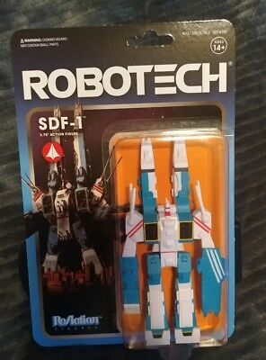 """Robotech SDF-1 MOC NEW Super 7 Action Figure Toy 3.75"""" ReAction Fortress One"""