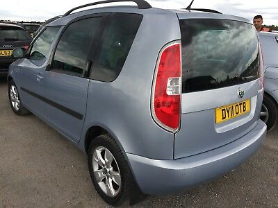 2011 Skoda Roomster 1.2 Tsi **alloys, Air Con, Pan Roof* 11 Srvcs, 1 F/rec Owner