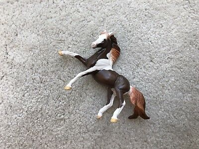 Custom CM Breyer Horse Stablemate Liver Chestnut Pinto Rearing Andalusian G3