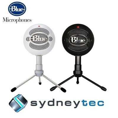 New Blue Microphones Snowball iCE USB Microphone with HD Audio | Black // White