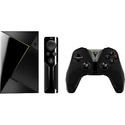 nVidia Shield Smart Android TV Box Gaming Streaming Media Player With Controller