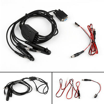5in 1 RPC-M5X Programming Cable For Motorola GP300 GP328 CP040 Two-Way Radio AU