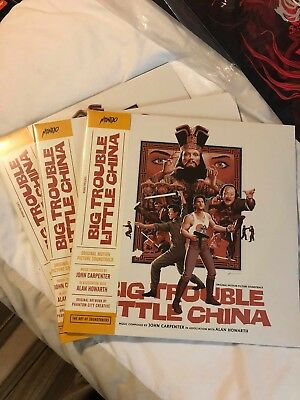 SDCC 2018 Mondo Big Trouble in Little China Vinyl Soundtrack IN HAND