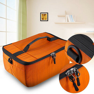 DSLR SLR Partition Folding Flexible Padded Camera Lens Insert Bag Dividers Case