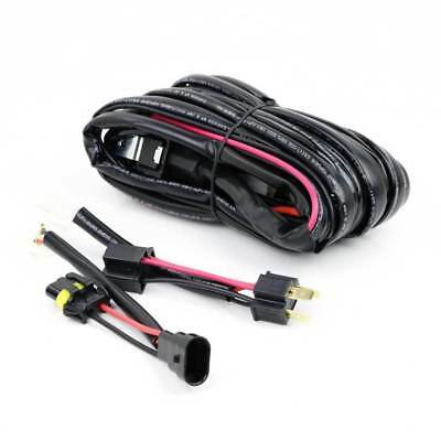 LED Driving Light Bar Wiring Loom Harness 12V 40A Switch Relay Kit Quick Fit