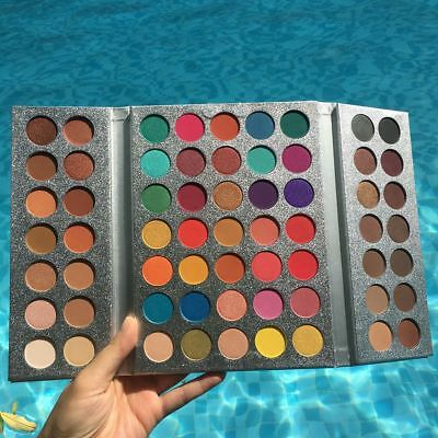 Beauty Glazed Eyeshadow Palette 63 Color Matte Eye Shadow Pigment Makeup Tool