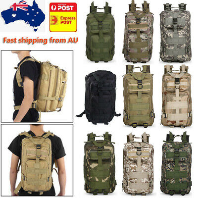 3P Military 30L Molle Backpack Rucksacks Sports Bag for Camping Traveling Hiking