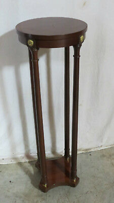 Baker Plant Stand Table Mahogany Neoclassical