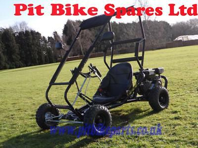 New 200cc Off Road Drift Buggy. Roll Cage 6.5hp 4 Stroke Petrol Powered Go Kart.