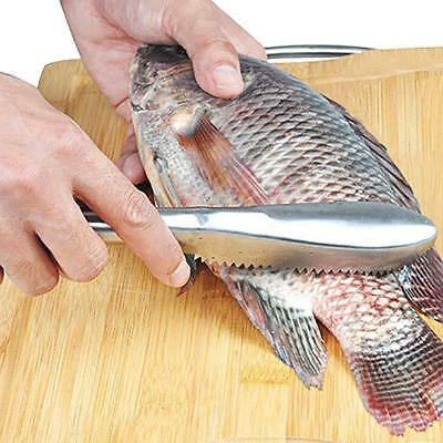 """Fish Scales Skin Remover Scaler Fast Cleaner Home Kitchen Clean Tools UK"""""""