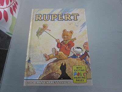 1963 RUPERT Daily Express ANNUAL Facsimile .. Great Condition